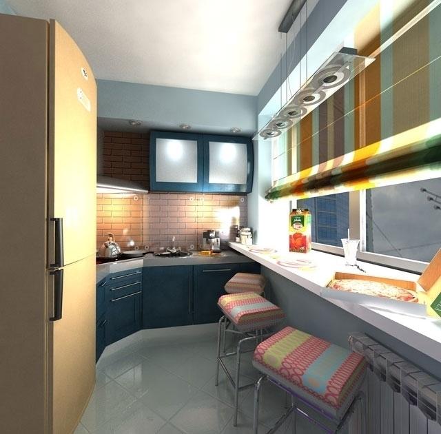 Как узкую кухню сделать удобной: идеи и советы - будь в теме.