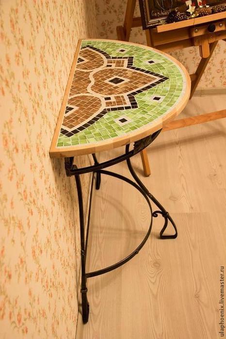 Идеальный столик длЯ балкона - будь в теме.