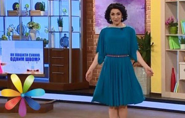 Праздничное платье одним швом для любой фигуры за 20 минут – БУДЬ В ТЕМЕ c55cd86fde419