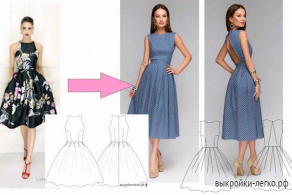 a456128c201 Как сшить платье новичку  мастер-класс… – БУДЬ В ТЕМЕ