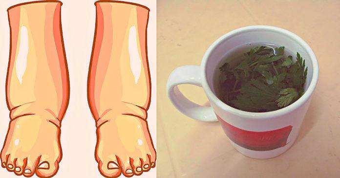 С этим напитком отечность ног уйдет всего за пару дней. почувствуйте легкость в походке