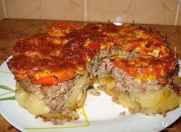 Картофель под шубой! Необычное, оригинально и очень вкусно