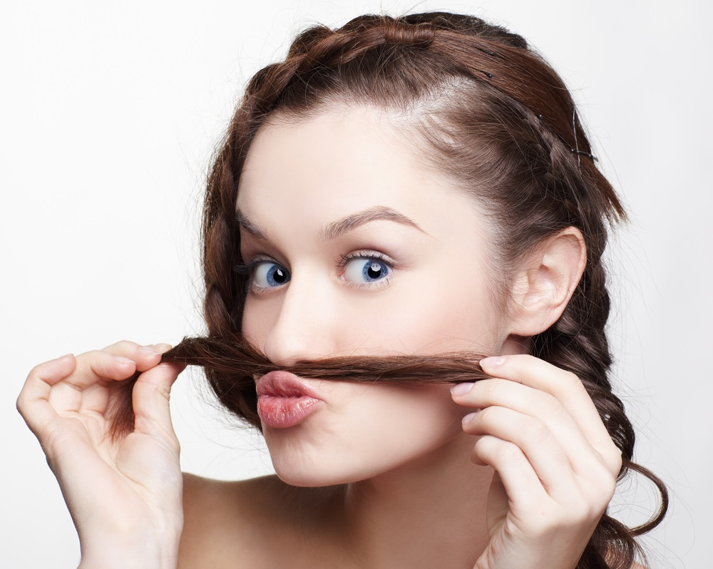 Как девушке в домашних условиях убрать усы