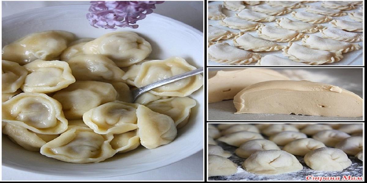 пельмени заварное тесто рецепт пошаговый с фото