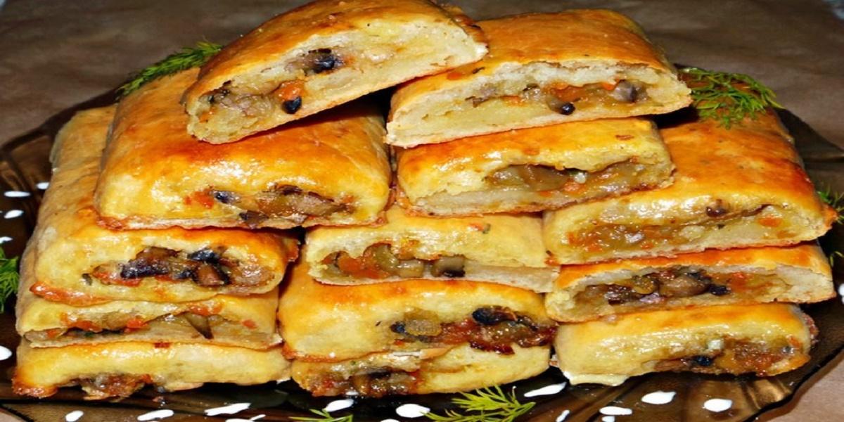 Картофельные рулетики с грибами рецепт с фото пошагово в духовке