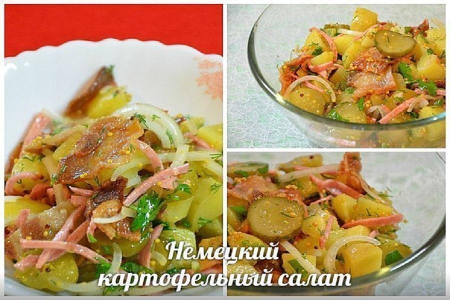 Как готовить картофельный салат