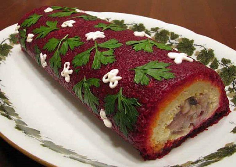 Фото-рецепт салата шуба