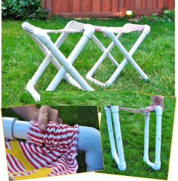 Как сделать походный столик своими руками из полипропилена