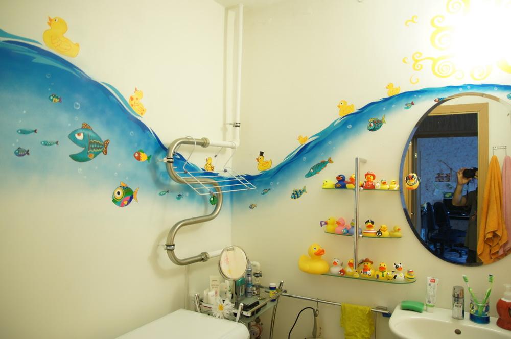 Декорирование ванной комнаты своими руками фото 83