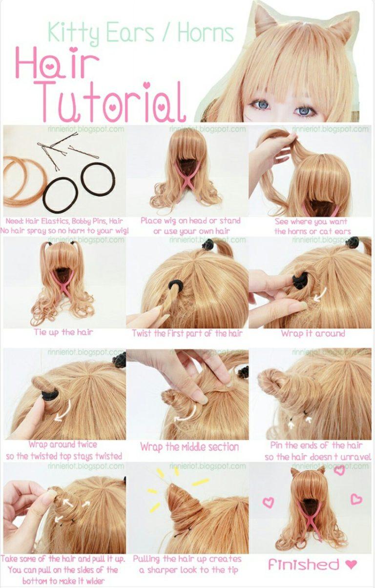 Как сделать рожки из волос - фото варианты прически - БУДЬ В ТЕМЕ