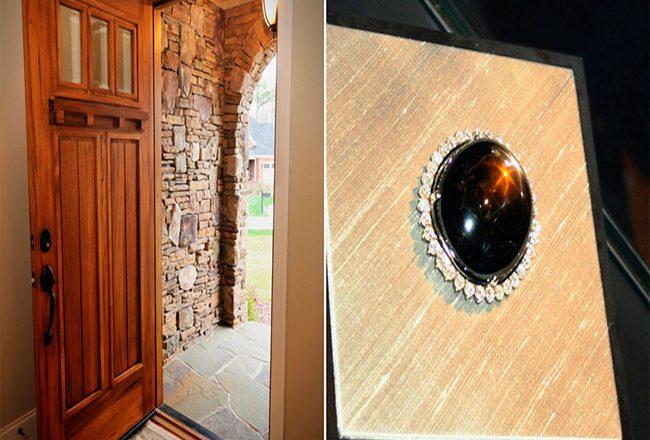 Он 9 лет использовал камень стоимостью в $80 миллионов в качестве дверного отбойника