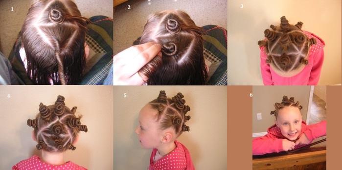 Причёски быстро и легко для девочек