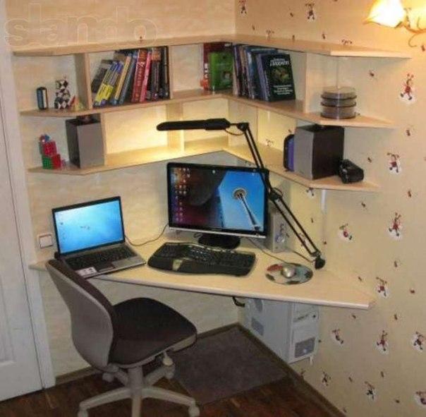 Делаем недорогой компьютерный стол сделай сам postila.