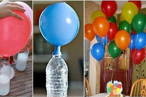 Воздушный шарик в домашних условиях 48