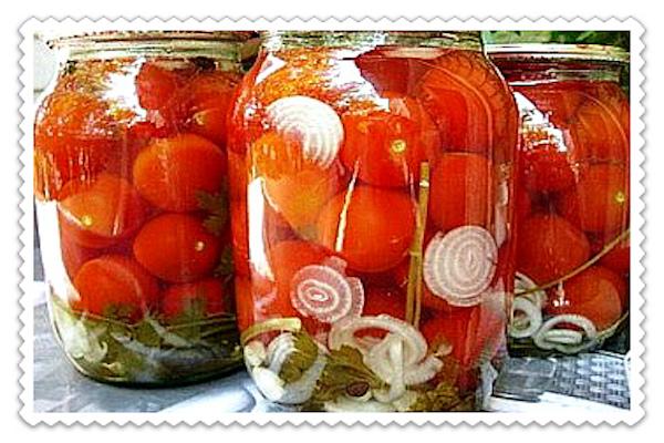 Как закрыть помидоры на зимуы с фото