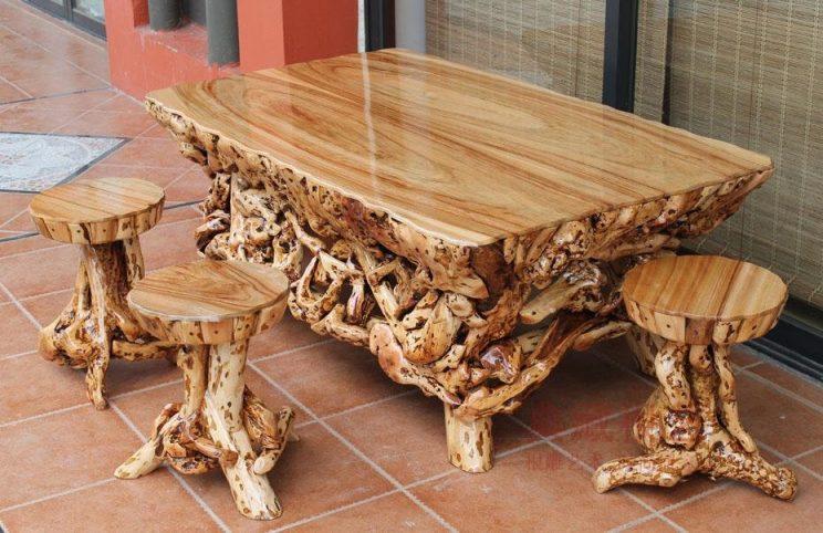 Резные из дерева изделия ручной работы