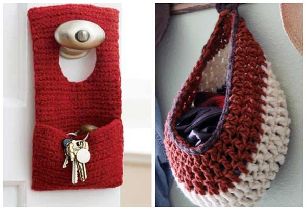 Вязание для дома спицами и крючком. Интересное вязание